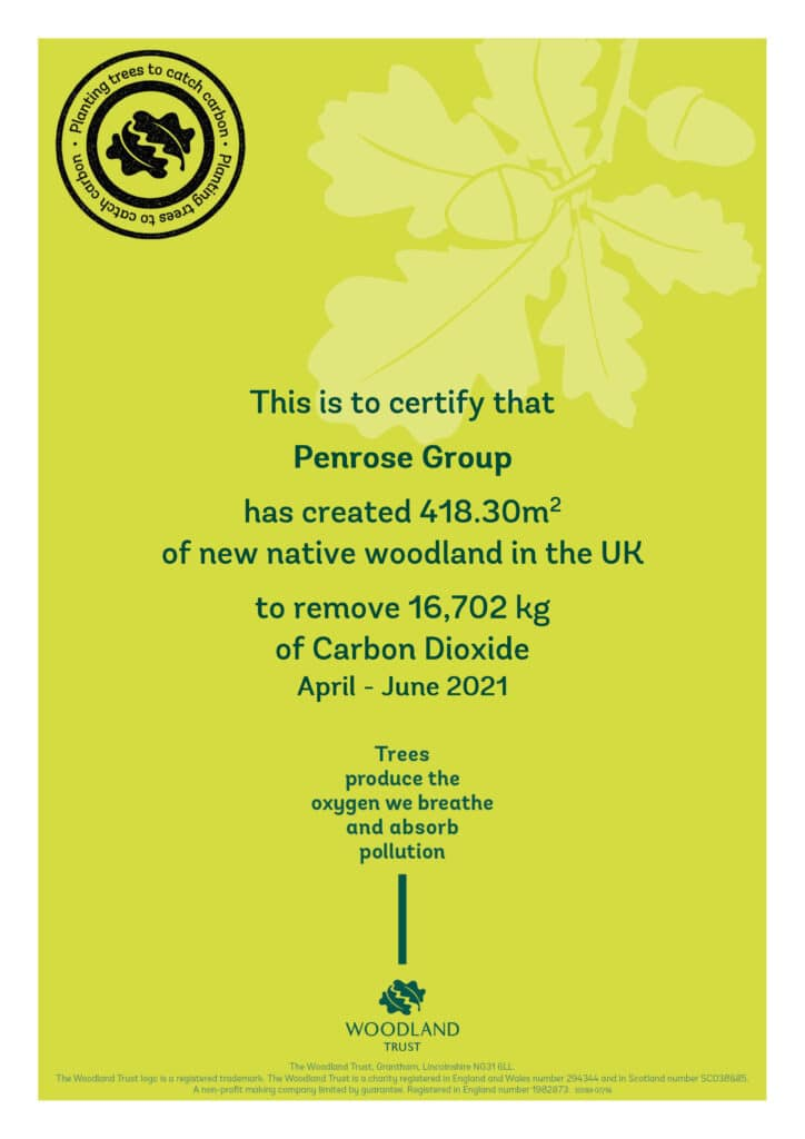 Penrose Group Carbon Capture Apr-Jun 2021